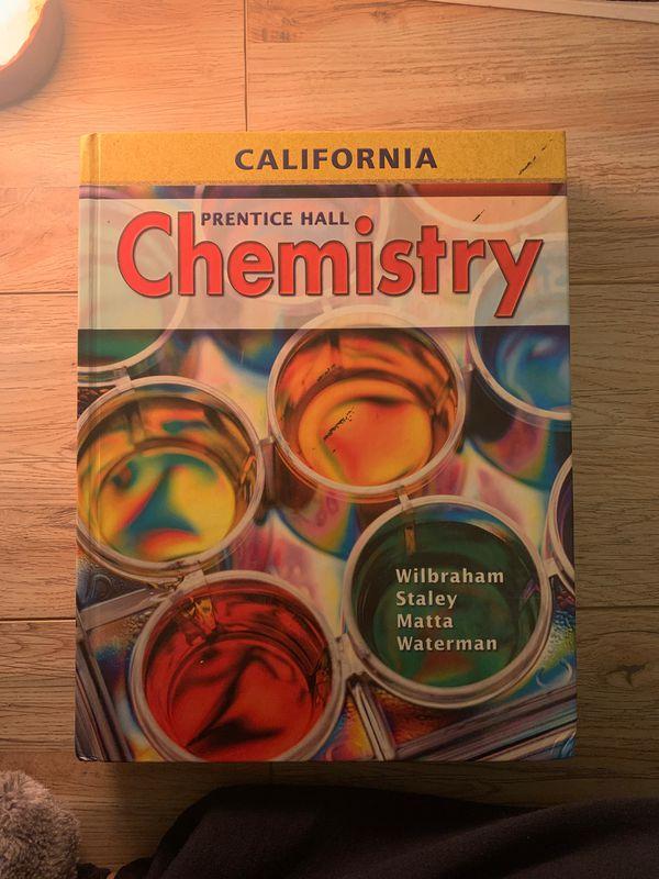 Prentice Hall Chemistry Textbook by Wilbraham Staley Matt's Waterman
