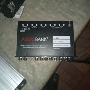 AudioBank Equalizer for Sale in Waterbury, CT