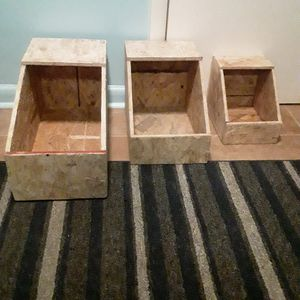 Nesting boxes for rabbits or chickens NEW for Sale in Angier, NC