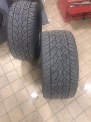 22 inch tires 295/r22 for Sale in Alexandria, VA