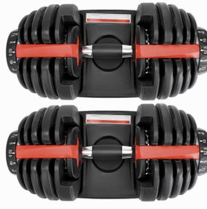 🔥 SALE 🔥 5-52.5 lbs Premium Adjustable Dumbbell Set for Sale in Los Angeles, CA