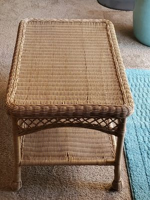 Pier One Wicker Coffee Table for Sale in Valley Center, CA