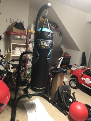 Everlast Powershot Punching Bag and Stand for Sale in Land O Lakes, FL