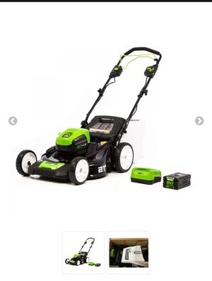 Greenworks Pro 80V 21-Inch Self-Propelled Cordless Lawn Mower, 5Ah Battery and Charger Included for Sale in Brooklyn, NY