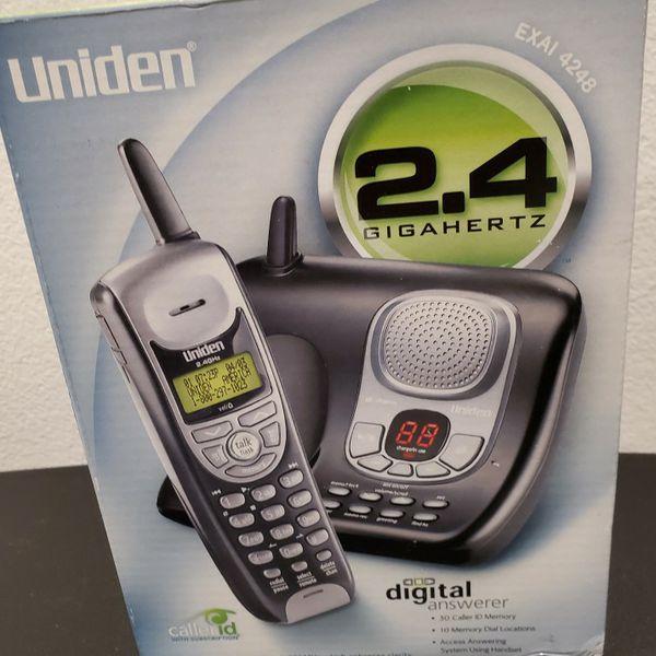 Uniden Digital Answerer - 2.4 Gigahertz