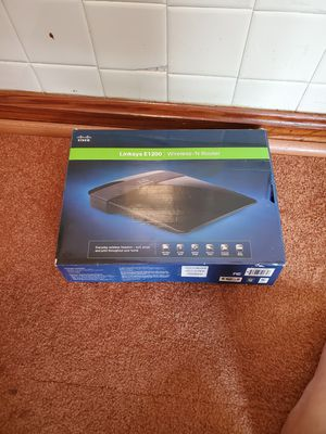 Cisco Netgear e1200 Wireless-N Router for Sale in Mobile, AL