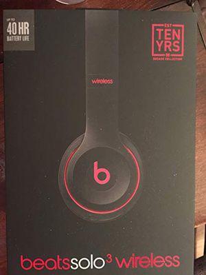 Beats solo 3 wireless headphones for Sale in Peyton, CO