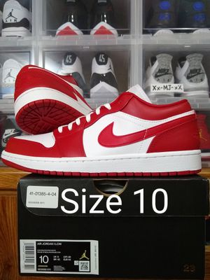 Nike Air JORDAN 1 Low Gym Red Mens Size 10 US - OG All DS for Sale in Everett, WA