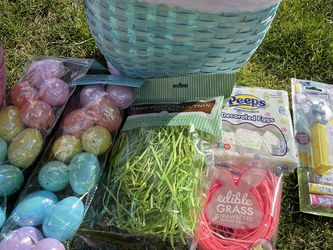 Easter Bunny Basket Filled With Eggs And Candy for Sale in Canby,  OR