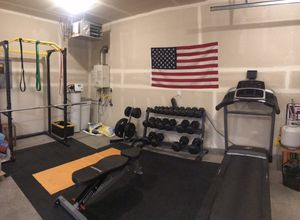Complete Home Gym Setup!! Great Condition!! High Quality!! for Sale in Wasilla, AK