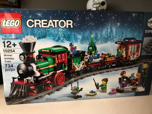 Lego winter holiday train for Sale in Puyallup, WA