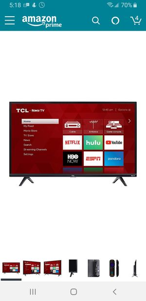"32"" TCL Roku smart TV 720p for Sale in Stanton, CA"