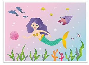 NEW Mermaid Under the Sea Backdrop Theme Birthday Party Fiesta Sirenita for Sale in South Gate, CA