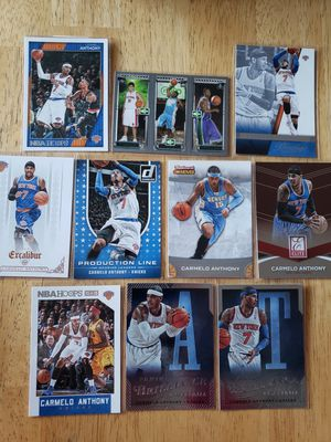Carmelo Anthony Knicks Nuggets NBA basketball cards for Sale in Gresham, OR