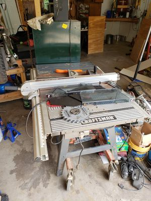 Craftsman table saw for Sale in Willoughby, OH