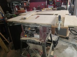 Table saw with stand for Sale in Blue Springs, MO