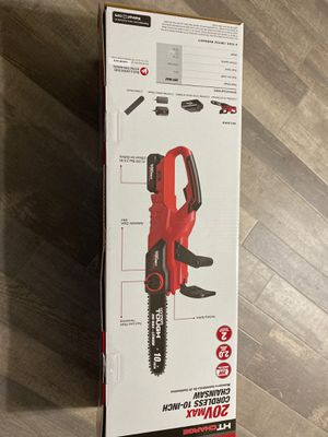 Hyper tough 20volts chainsaw brand new never used for Sale in Albuquerque, NM