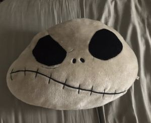 Nightmare Before Christmas Jack Pillow for Sale in San Diego, CA
