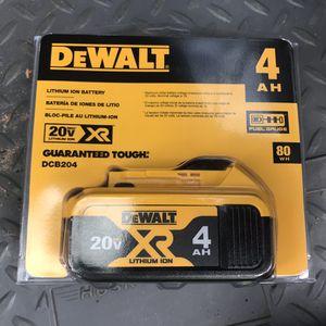 Dewalt 20 volt 4.0 Battery Brand New for Sale in Hilo, HI