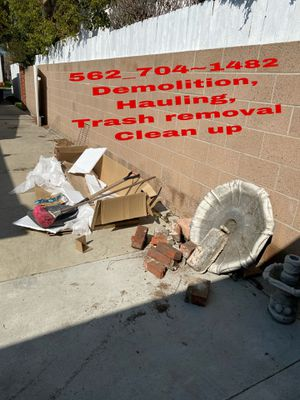 Depende hauling trash removal clean up {contact info removed} for Sale in Long Beach, CA