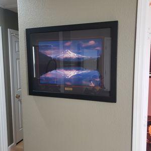Mt Hood Photo Framed for Sale in Las Vegas, NV
