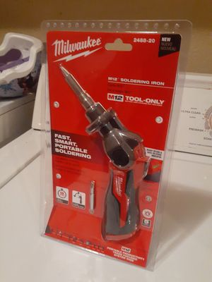 M12 soldering iron tool only for Sale in Mesa, AZ