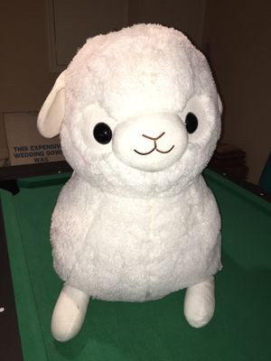 White, Super Soft and Huge/Jumbo stuffed animal! Official Amuse Brand Alpacasso for Sale in Rockville, MD