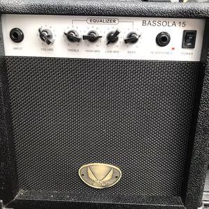 DEAN BASS GUITAR AMP BASSOLA 15 for Sale in Miami, FL