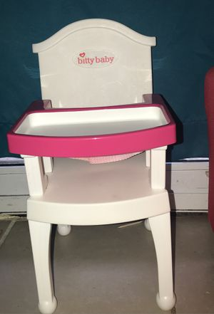 American Girl Doll high chair 🪑 for Sale in Addison, IL
