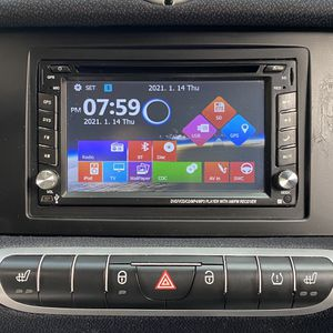 Double Din GPS, DVD, VCD, CD, MP3, Cam Ready, Bluetooth Calling, Radio Stereo Receiver for Sale in Los Angeles, CA