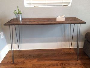 Rustic Wood Console Table for Sale in Denver, CO