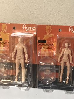 Max Factory Figma Archetype Action Figure Pair for Sale in Vancouver,  WA
