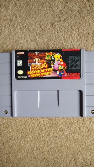 Super Mario RPG: Legend of the Seven Stars Super Nintendo (SNES) Authentic for Sale in Lynnwood, WA