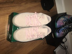 Pink puma suede for Sale in Annandale, VA