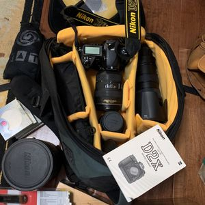 Nikon d2Xs Digital Camera Package With Nikon ED Lenses. for Sale in Costa Mesa, CA