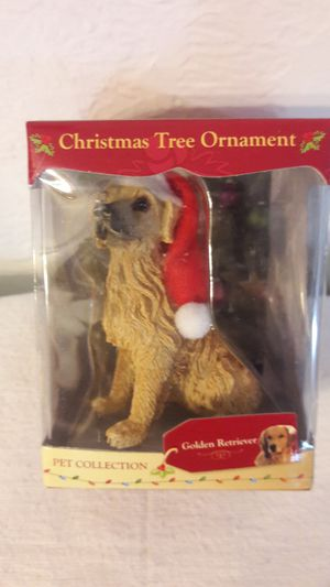 ACA Golden Retriever Christmas Ornament FAST SHIP for Sale in Fort Lauderdale, FL