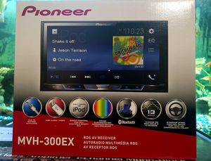 Pioneer full 7inch screen color display 13 band eq brand new with warranty for Sale in Covina, CA