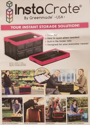 Collapsible insta-crate for Sale in Atlanta, GA