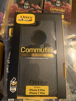 Apple iPhone 7 Plus iPhone 8 Plus Otter Box Commuter Phone Case for Sale in Mesa, AZ