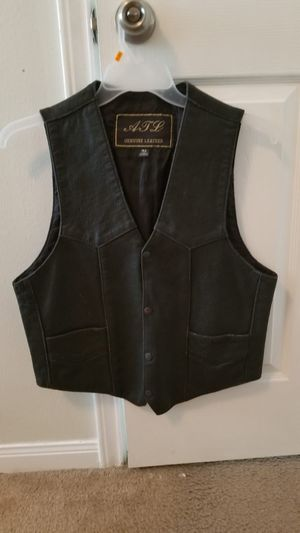 Vest leather for Sale in Katy, TX