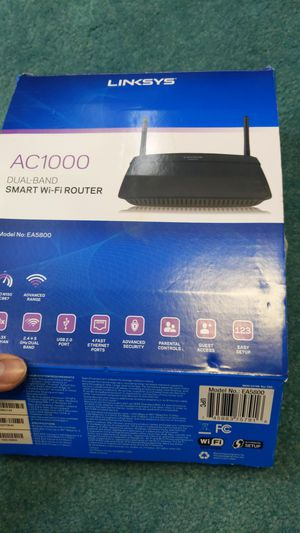 Linksys ac1000 dual band router for Sale in Oklahoma City, OK