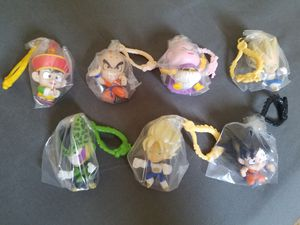 Dragonball Z Mystery Figure Hangers Set of 7 for Sale in Perris, CA