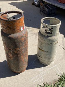 forklift propane bottles $25 each for Sale in Westminster,  CA