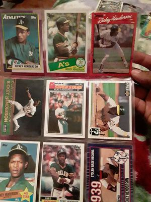 Ricky baseball cards for Sale in San Jose, CA