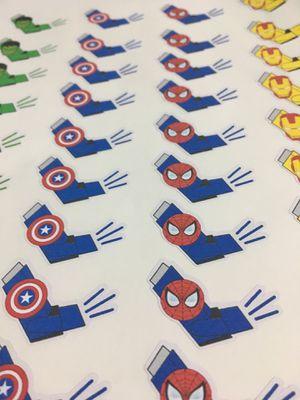 Asthma Inhaler stickers, tracker, planner, Hulk , Spider-Man, Iron Man, Captain America, fun stickers, stocking stuffer for Sale in El Monte, CA
