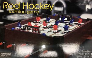 Rod Hockey tabletop game for Sale for sale  Oxford Township, NJ