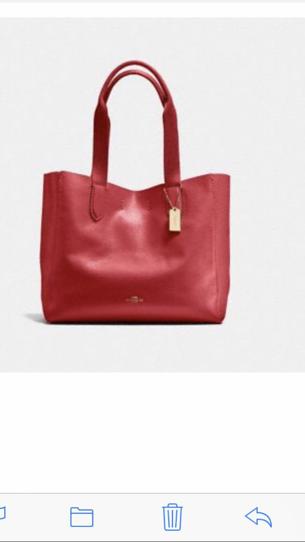Coach bag Red brand new