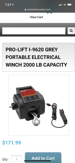 Electric winch brand new for Sale in Moreno Valley, CA
