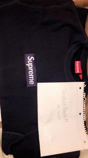 Supreme Box logo crewneck for Sale in Lakeside, CA