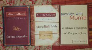 mitch album books $7 each for Sale in Colton, CA
